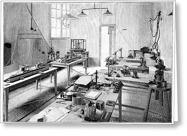 Annual Volume Greeting Cards - Electrical Certification, 19th Century Greeting Card by
