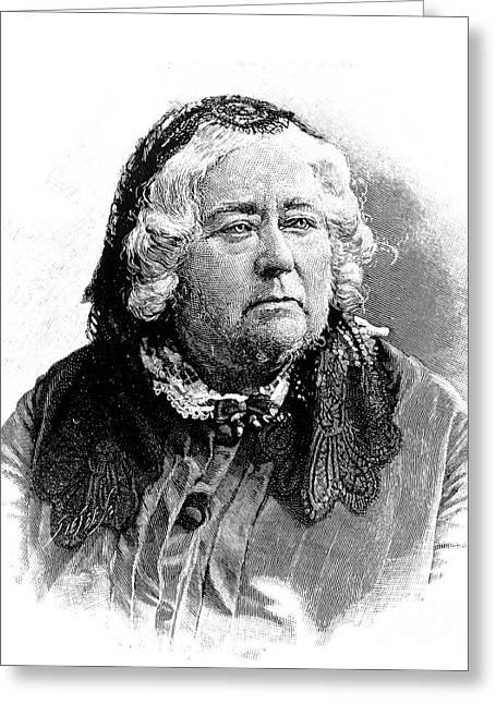 Schoolmistress Greeting Cards - Elizabeth Palmer Peabody Greeting Card by Granger