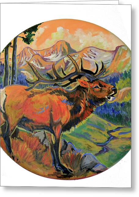 Jenn Cunningham Greeting Cards - Elk Valley  Greeting Card by Jenn Cunningham