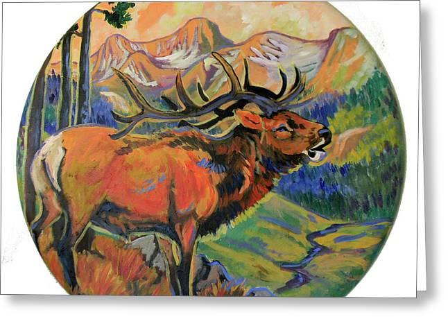 Elk Valley  Greeting Card by Jenn Cunningham