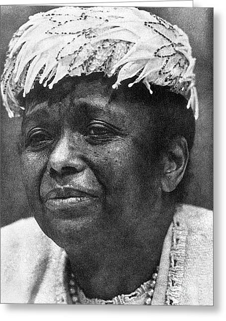 Naacp Greeting Cards - Ella Baker (1903-1986) Greeting Card by Granger