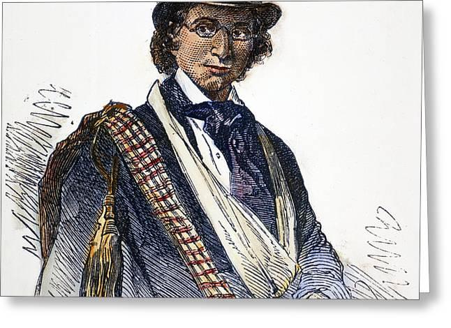 ELLEN CRAFT (1826-1897) Greeting Card by Granger