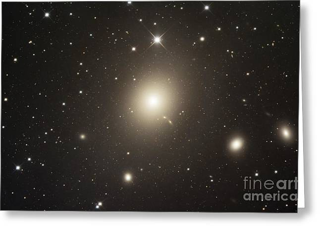 Elliptical Galaxy Messier 87 Greeting Card by Robert Gendler