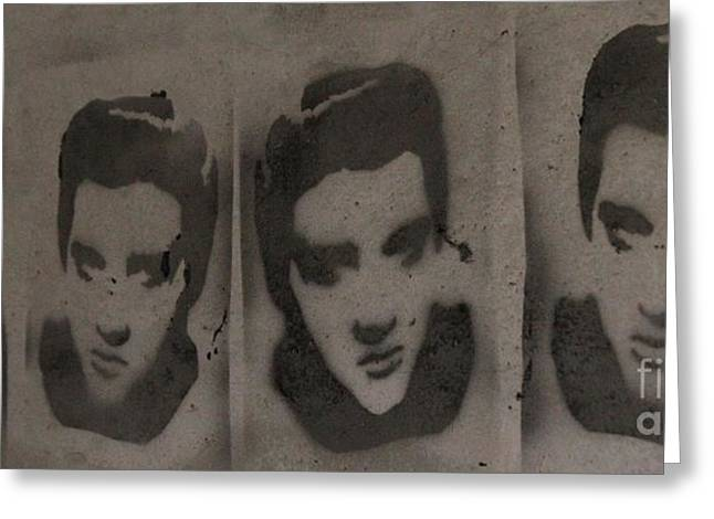 Elvis - A Bunker Tribute Greeting Card by Unknown