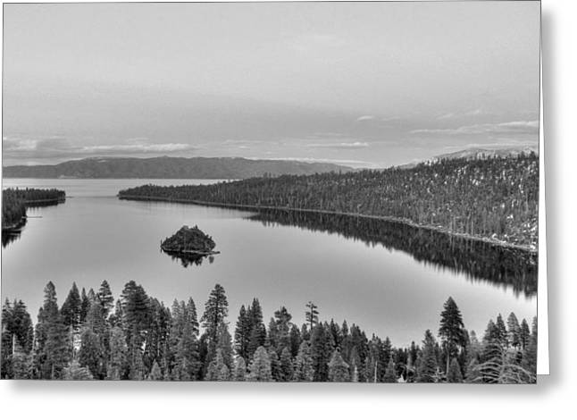 Most Photographs Greeting Cards - Emerald Bay Lake Tahoe Greeting Card by Brad Scott