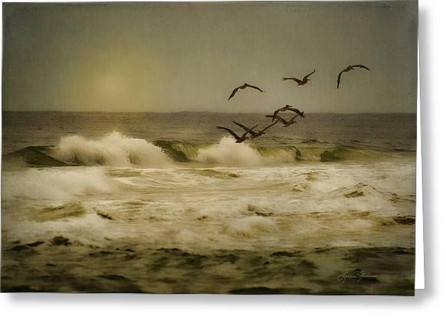 Santa Rosa Beach Greeting Cards - Emerald Coast Greeting Card by LeAnne Thomas