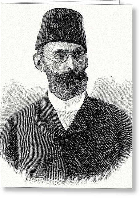 Bey Greeting Cards - Emin Pasha, German Explorer Greeting Card by Cci Archives