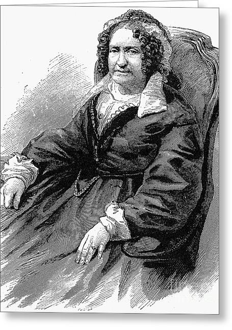 Emma Willard (1787-1870) Greeting Card by Granger