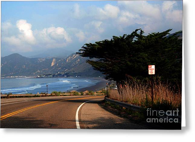 Emma Wood State Beach California Greeting Card by Susanne Van Hulst