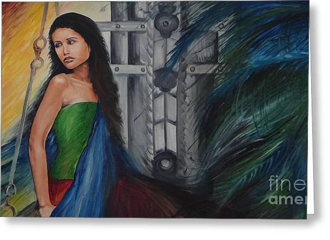 Emotions Greeting Card by Tanuja Chopra