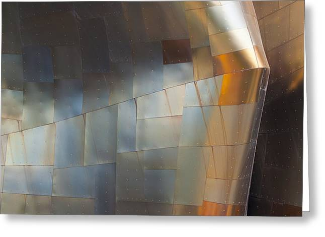 EMP Abstract Fold Greeting Card by Chris Dutton