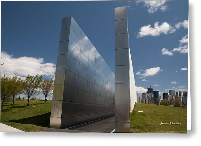 Wtc 11 Greeting Cards - Empty Sky Memorial 2 Greeting Card by Jonathan Whichard