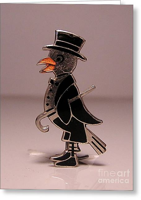 Tuxedo Jewelry Greeting Cards - Enamels 15 Greeting Card by Dwight Goss