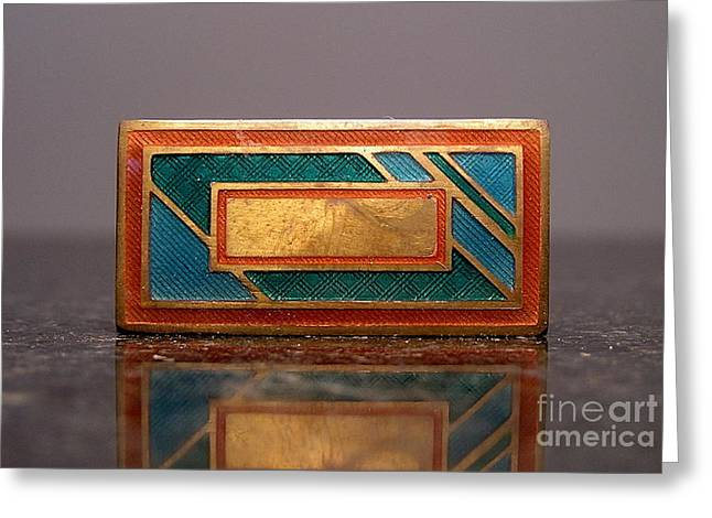 Enamels 30 Greeting Card by Dwight Goss