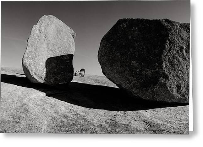 Enchanted Rock Greeting Card by David  Rusch