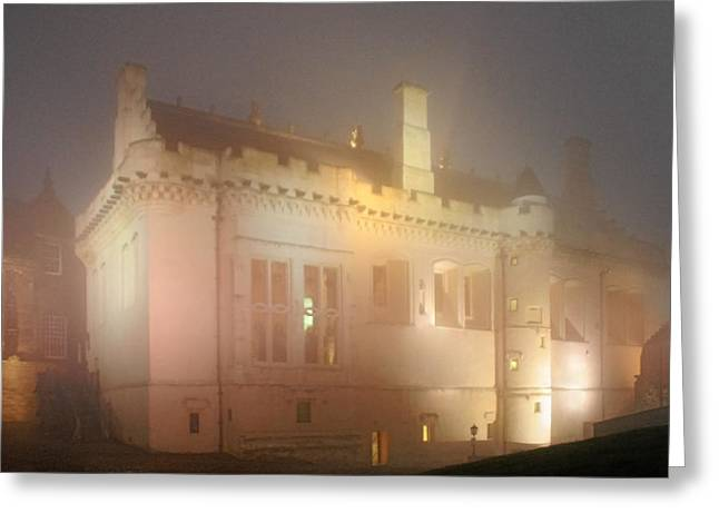 Nighttime Greeting Cards - Enchanted Stirling Castle Scotland  Greeting Card by Christine Till
