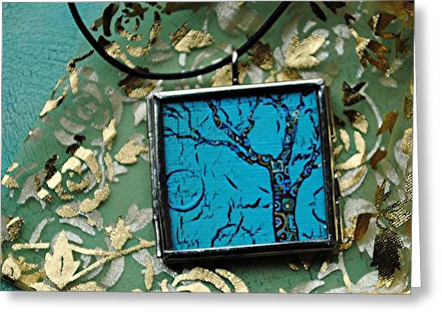 Sky Jewelry Greeting Cards - Encircles the World Greeting Card by Dana Marie