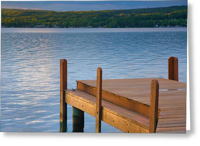 Finger Lakes Greeting Cards - End of Summer III Greeting Card by Steven Ainsworth