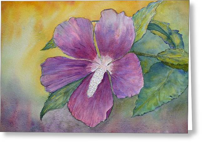 Althea Paintings Greeting Cards - End of Summer Greeting Card by Stella Schaefer
