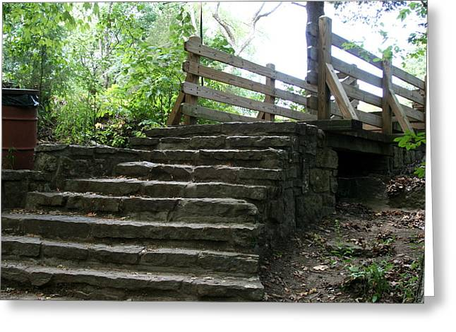 Devils Den Greeting Cards - End Of Trail Greeting Card by CGHepburn Scenic Photos