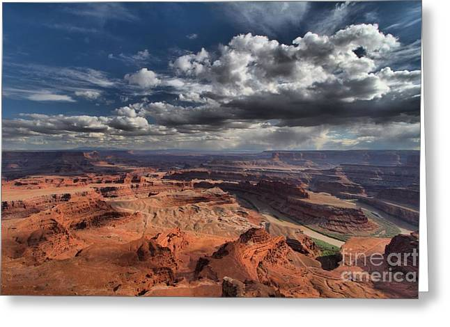 Dead Horse Point Greeting Cards - Endless Canyons Greeting Card by Adam Jewell