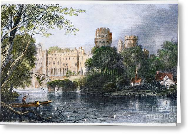 Warwick Greeting Cards - England: Warwick Castle Greeting Card by Granger