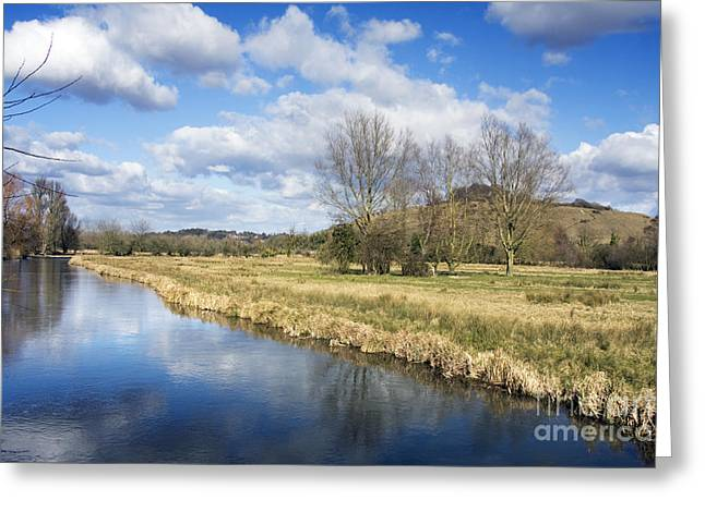 Beautiful Scenery Greeting Cards - English countryside Greeting Card by Jane Rix