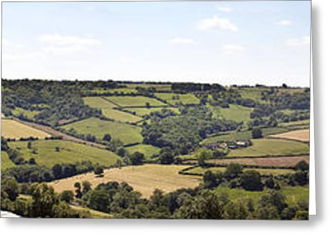 English countryside panorama Greeting Card by Jane Rix