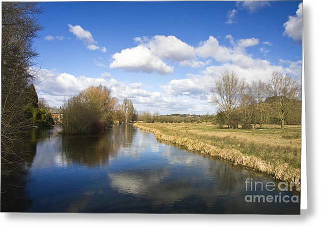 English Countryside1 Greeting Card by Jane Rix