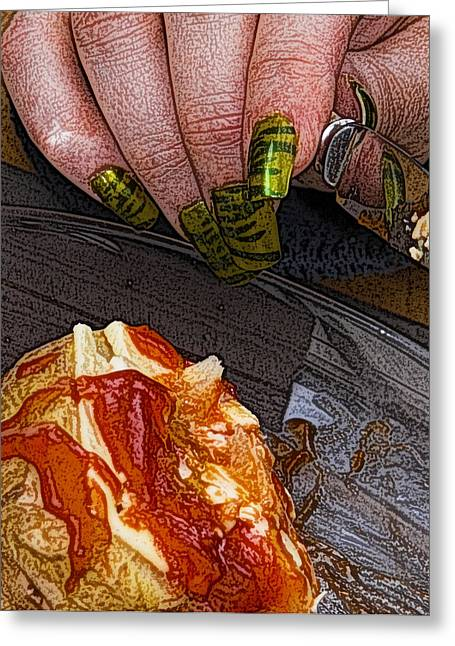 Recently Sold -  - Fantasy Realistic Still Life Digital Art Greeting Cards - Enjoy Greeting Card by Barry Hayton