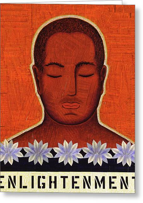 Samadhi Greeting Cards - Enlightenment Greeting Card by Gloria Rothrock