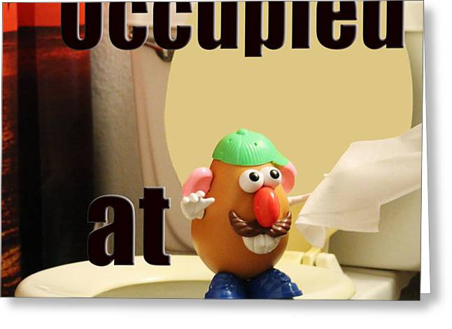 enough with the occupy Greeting Card by Joe Russell