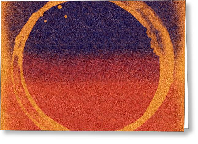 Enso Greeting Cards - Enso 8 Greeting Card by Julie Niemela