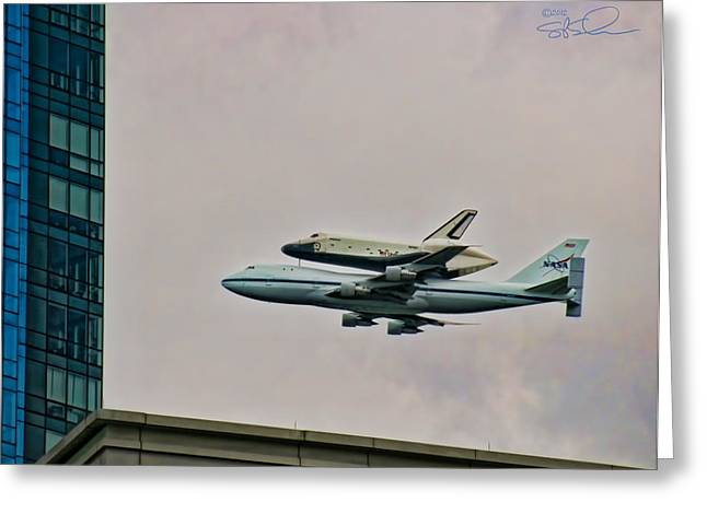 Enterprise 10 Greeting Card by S Paul Sahm