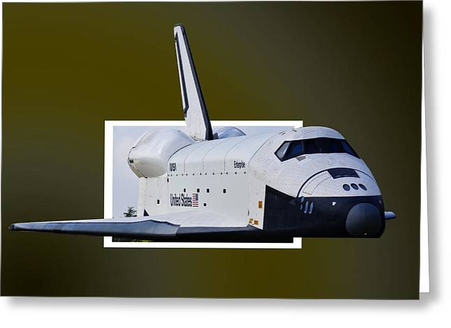 Enterprise Greeting Card by Lawrence Ott