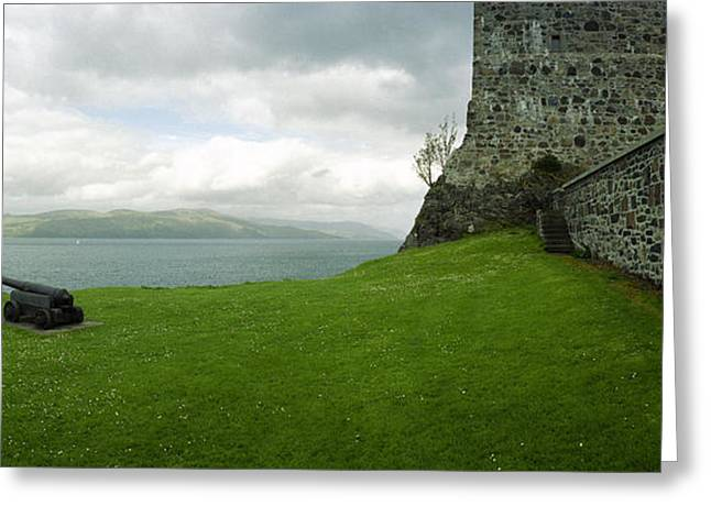 Entrapment Greeting Cards - Entrapped at Duart Castle Greeting Card by Jan Faul