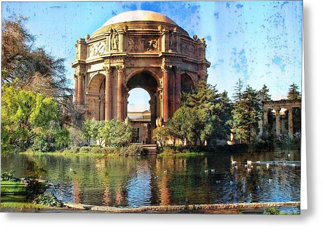 Winery Photography Greeting Cards - Epierium In San Fransisco Greeting Card by Linda Gesualdo