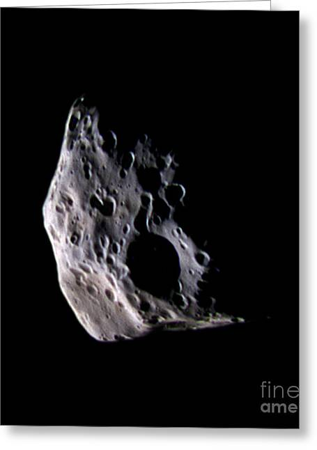 21st Greeting Cards - Epimetheus Greeting Card by NASA / Science Source