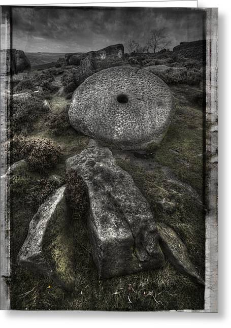 Millstone Greeting Cards - Epitaph Greeting Card by Andy Astbury