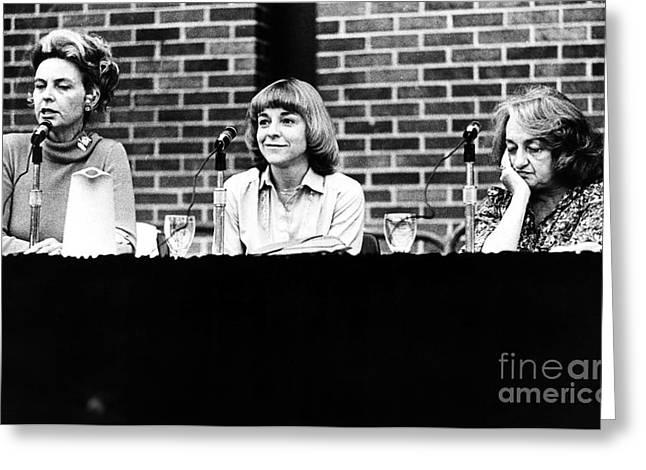 Lib Greeting Cards - Era Debate, 1978 Greeting Card by Granger