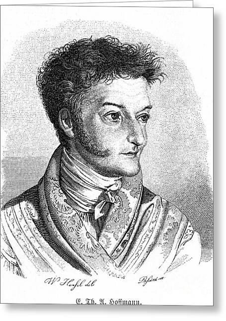 Self-portrait Photographs Greeting Cards - Ernst Hoffmann (1776-1822) Greeting Card by Granger