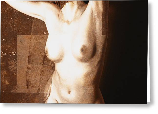 Erotic art  23 hours Greeting Card by Falko Follert