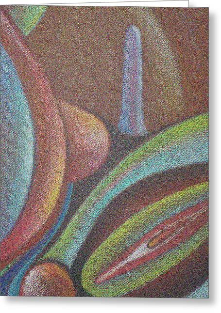 Visionary Artist Greeting Cards - Erotic Zones no.2 Greeting Card by George  Page