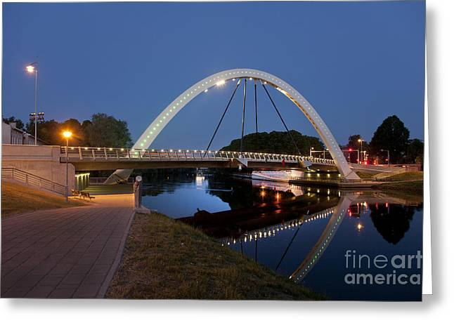 Gi Greeting Cards - Estonian Bridge and Archway Greeting Card by Jaak Nilson