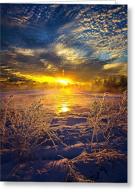 Geographic Greeting Cards - Eternal Hope Greeting Card by Phil Koch