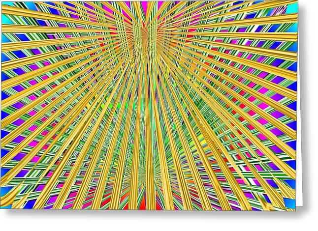 Interlaced Greeting Cards - Eternal Loom Greeting Card by Tim Allen