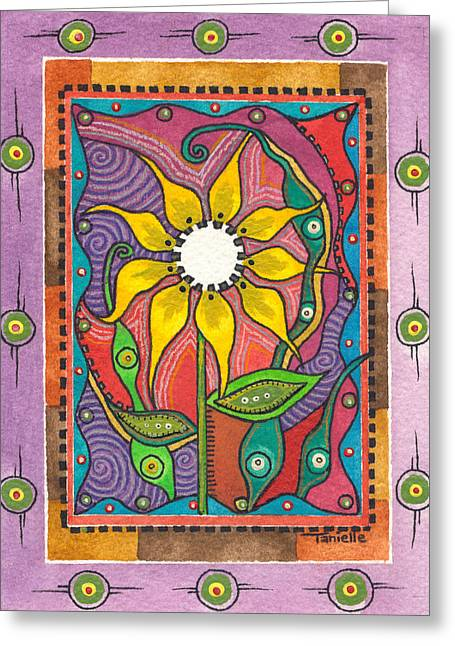 Best Sellers -  - The Nature Center Greeting Cards - Eternity Greeting Card by Tanielle Childers