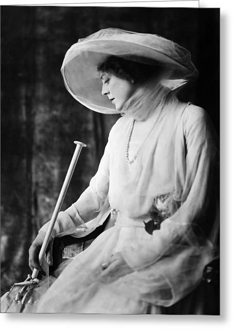 Starlet Greeting Cards - Ethel Barrymore (1879-1959) Greeting Card by Granger