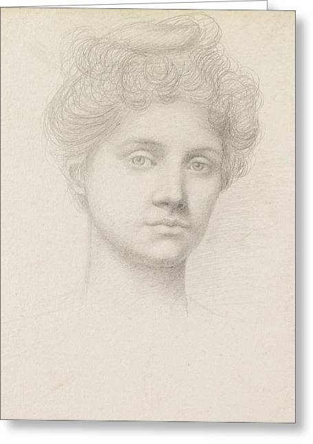 Trance Greeting Cards - Ethel Pickering Greeting Card by Evelyn De Morgan
