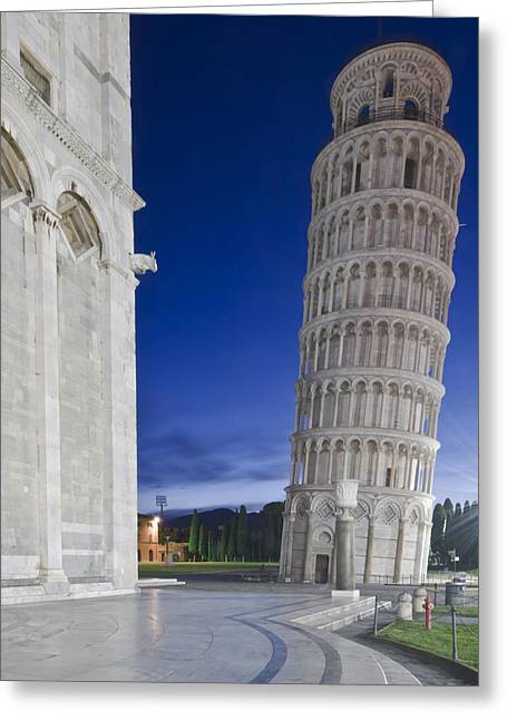 Man Made Space Greeting Cards - Europe Italy Tuscany Pisa Cathedral Greeting Card by Rob Tilley